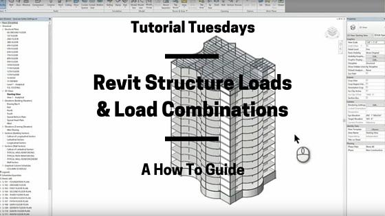 tutorial tuesday revit structure loads load combinations rh reproproducts com Autodesk Revit Icon Autodesk Revit Logo
