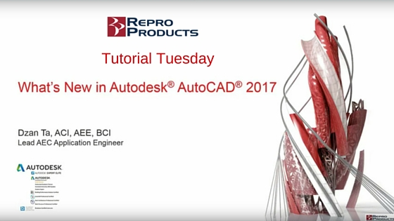 #TutorialTuesday | What's New in AutoCAD 2017