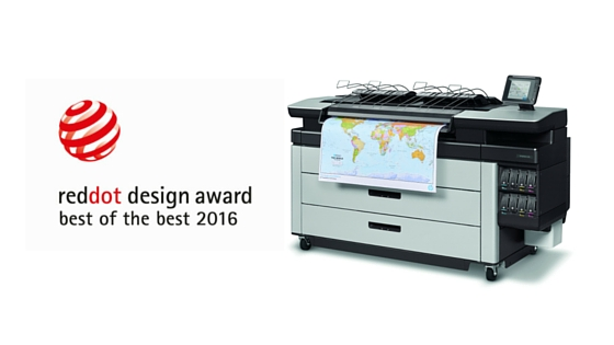 HP, Inc. Wins Coveted Red Dot Design Awards for Large Format Printers