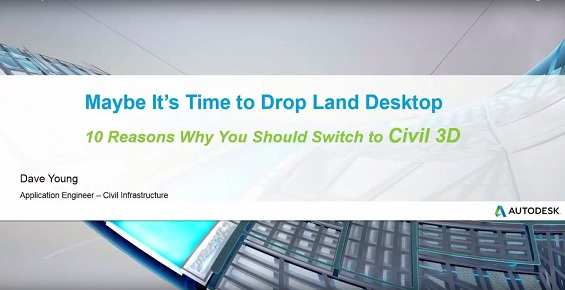 10 Reasons to Switch to Civil 3D