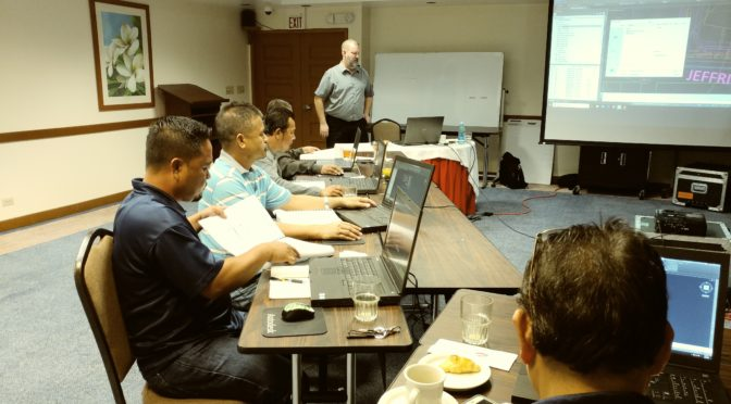 Repro Products Conducts Civil 3D Training in Saipan