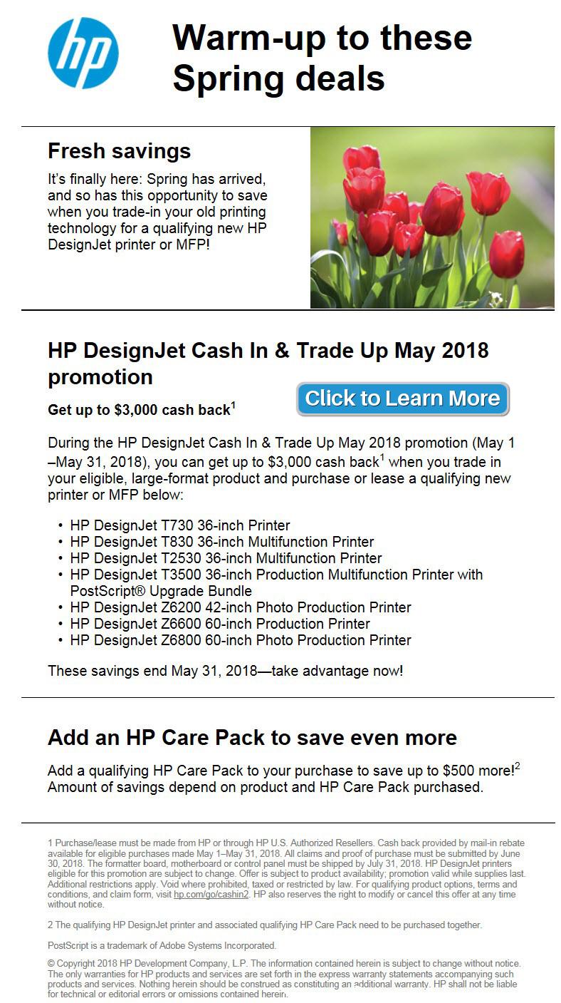 HP Trade-in Promo