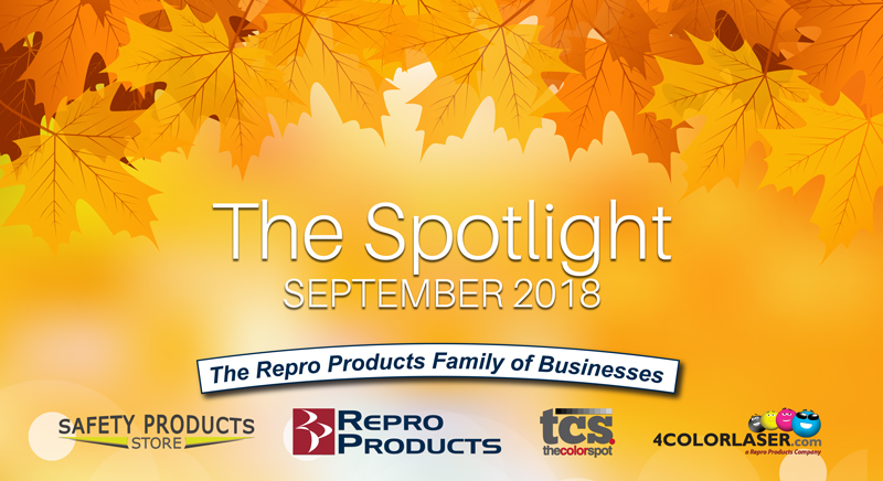 September 2018 Newsletter The Spotlight Repro Products