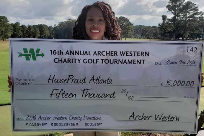 archer western charity golf