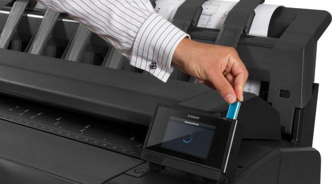 color wide format printer