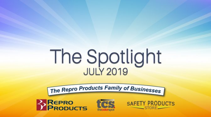 Spotlight Spark Header for July