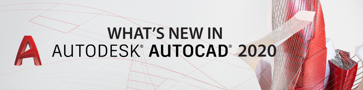 AutoCAD 2020 What's New Header