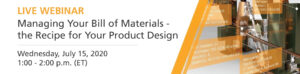 Managing your bill of materials webinar